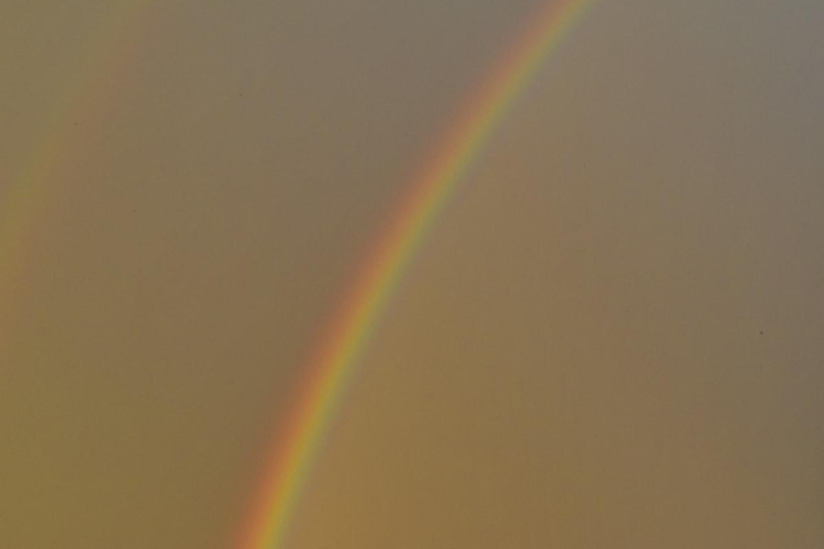 mờ, đầy màu sắc, bầu trời sáng, thời tiết, cầu vồng, màu sắc, mờ, ánh sáng, Thiên nhiên, cảnh quan