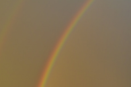 blurry, colorful, sky glow, weather, rainbow, color, blur, light, nature, landscape