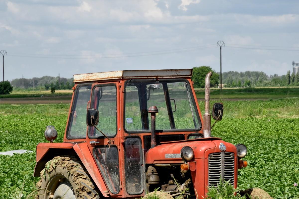 maatalouden, traktori, ajoneuvon, koneet, kone, maaperän, maatalous, maatila, maaseudun, maahan