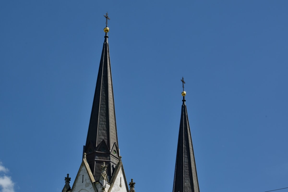 kyrktornet, gotiska, stadsområde, kyrkan, enhet, tornet, Domkyrkan, arkitektur, religion, gamla