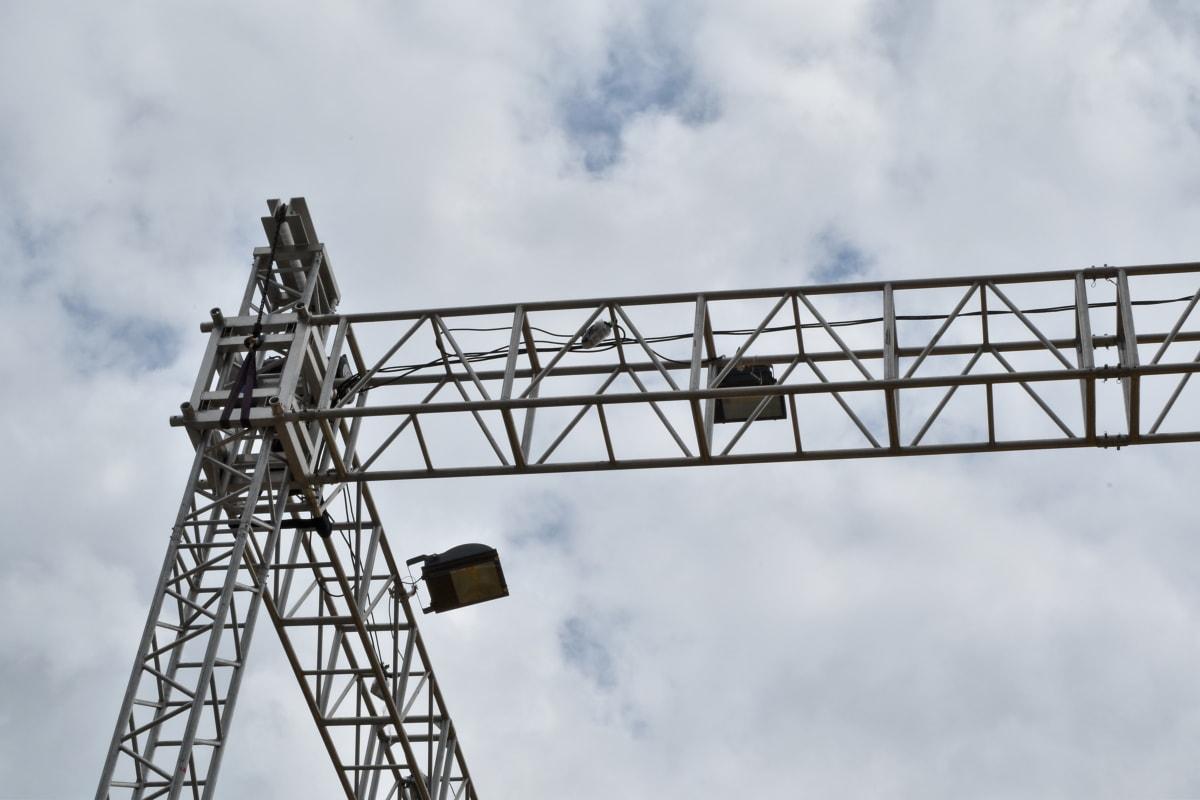 visoke, električne energije, uređaj, kabel, industrija, čelik, željezo, arhitektura, teška, na otvorenom