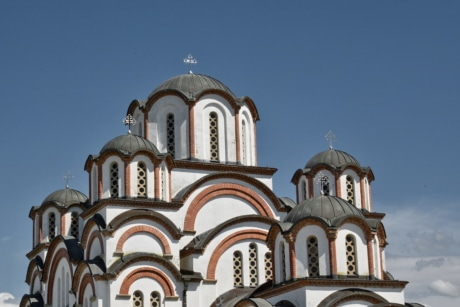 heritage, orthodox, church, architecture, old, facade, dome, building, religion, cathedral