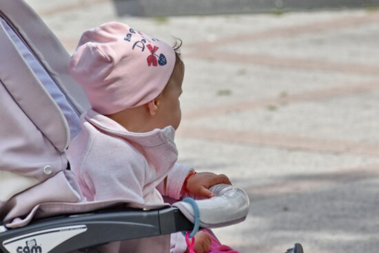 baby, childhood, outfit, pink, outdoors, cute, leisure, innocence, sit, pretty