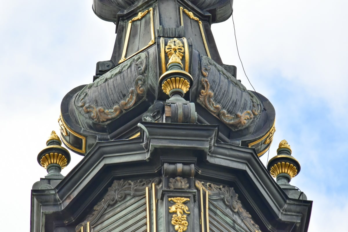 arkitektur, gamle, kultur, religion, gull, bygge, statuen, utendørs, antikk, åndelighet
