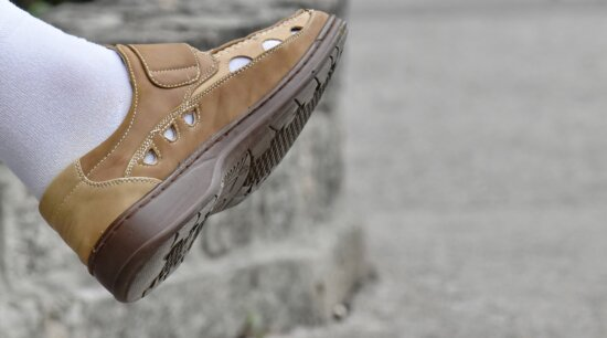 light brown, shoe, sock, leather, foot, footwear, fashion, classic, outdoors, leisure