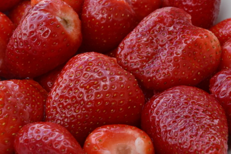 detail, reddish, strawberries, fruit, berries, berry, calorie, colorful, delicious, dessert