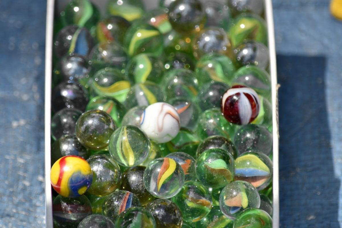 kaca, mainan, alam, bersinar, warna, cerah, dekorasi, merapatkan, banyak, warna-warni