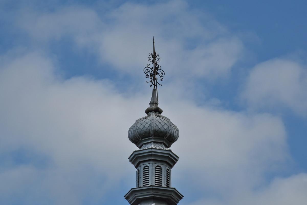 budova, Architektúra, vonku, staré, tradičné, oblak, mesto, veža, námestie, modrá obloha