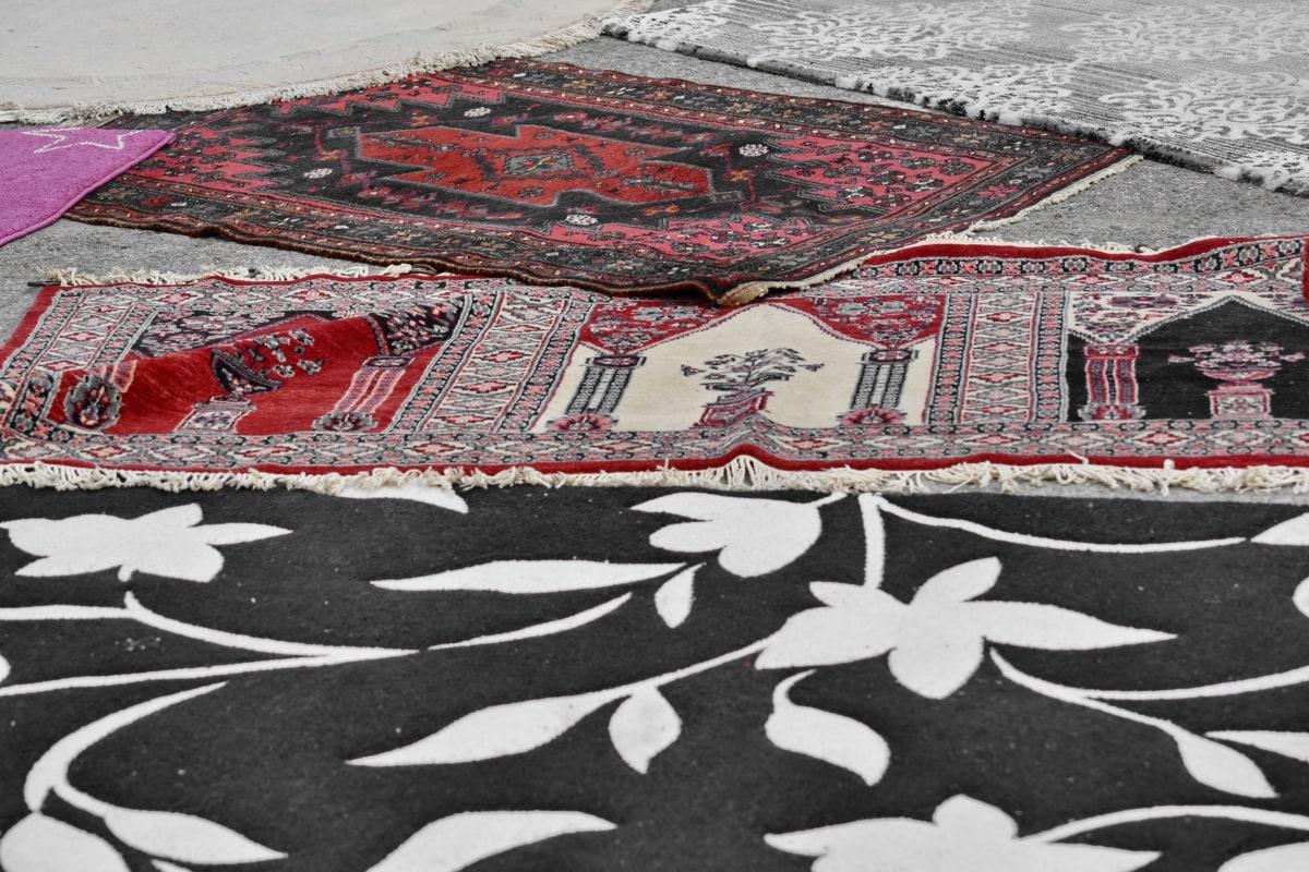 textil, Dywan, mozaika, wzór, sztuka, ludzie, ulica, wydrukować, Miasto, tekstury