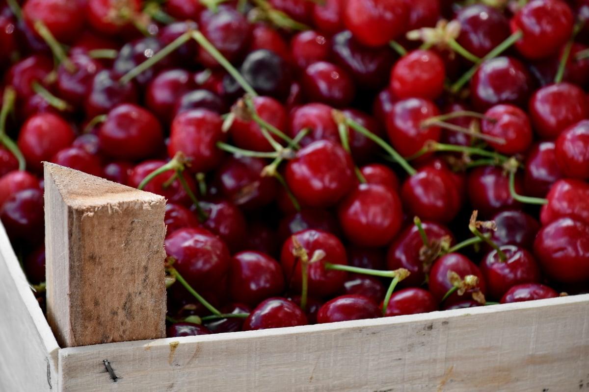 Корзина, сладкий, десерт, фрукты, вкусный, Витамин, вишня, вишни, питание, Здравоохранение