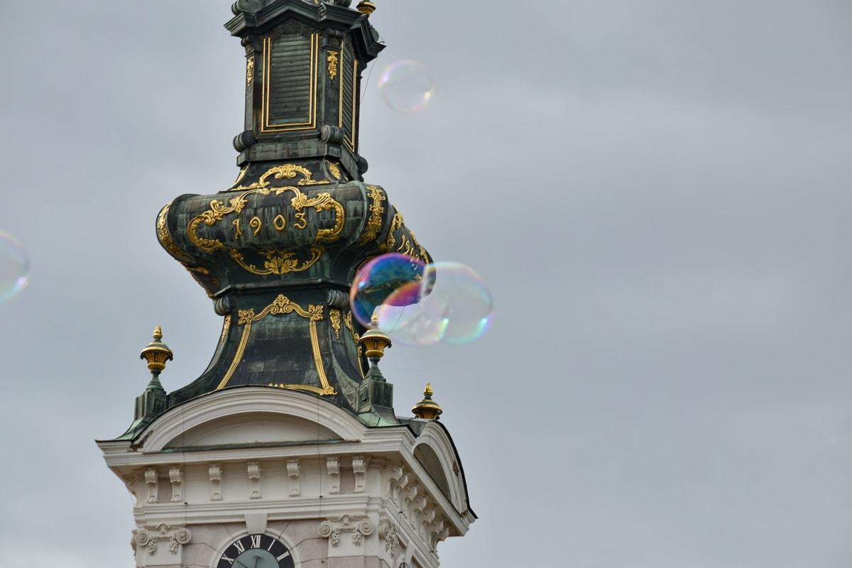 boble, kirketårnet, katedralen, dome, arkitektur, bygge, religion, kirke, gamle, statuen