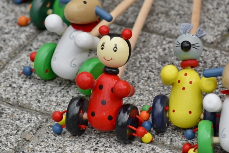 old fashioned, pavement, toys, traditional, wooden, toy, fun, wood, cute, funny