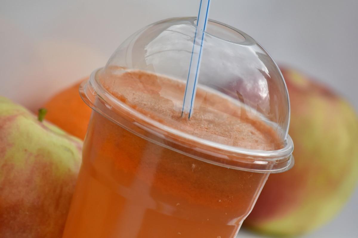 mehu, flydende, Drik, glas, drink, sundhed, kolde, lækker, morgenmad, æble