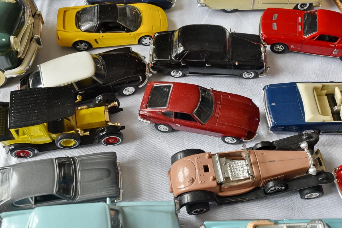 παιχνίδια, κατάστημα παιχνιδιών, αυτοκίνητο, όχημα, δέρμα, βιομηχανία, παλιά, χρώμιο, πολλά, νοσταλγία