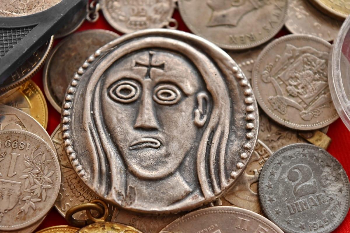 古代, 硬币, 银, 古代, 体系结构, 艺术, 青铜器, 业务, 现金, 铜