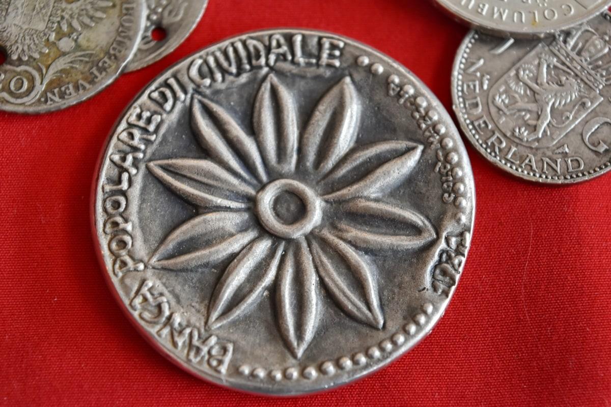 สมัยโบราณ, ศิลปะ, ธนาคาร, เงินสด, เหรียญ, เหรียญ, สกุลเงิน, การออกแบบ, อุปกรณ์, สปริง
