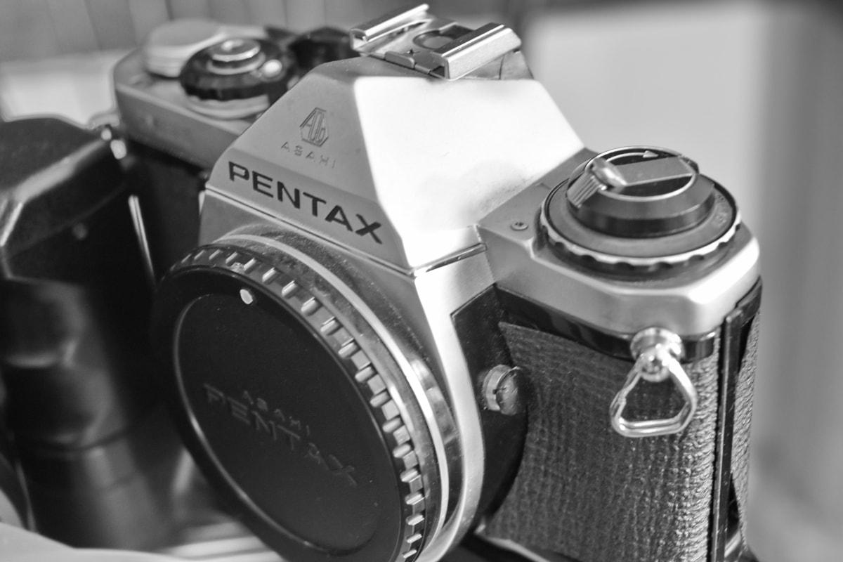 svart och vitt, nostalgi, fotografering, lins, kameran, filmen, enhet, mekanism, utrustning, retro