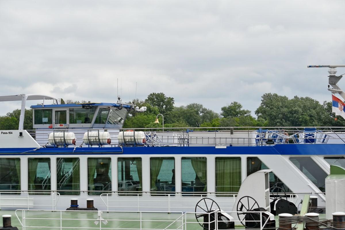 výletní loď, loď, loď, voda, vozidlo, přístav, trajekt, venku, vodní skútry, řeka