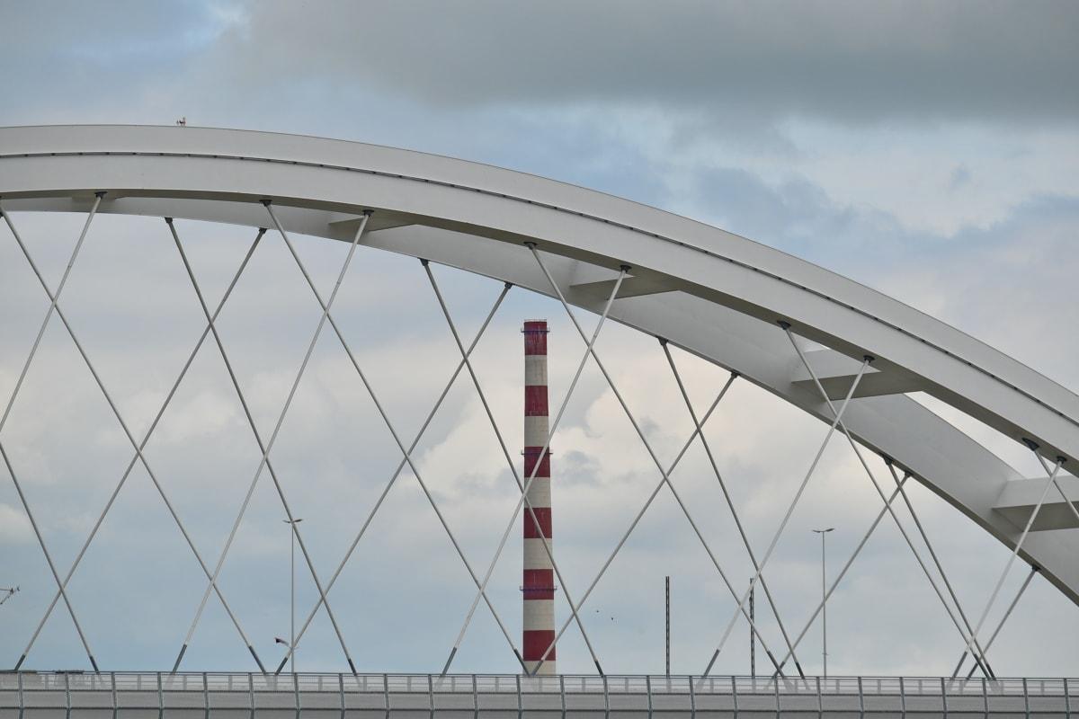 fabrikk, tårnet, arkitektur, struktur, bro, stål, byen, virksomhet, Urban, konstruksjon