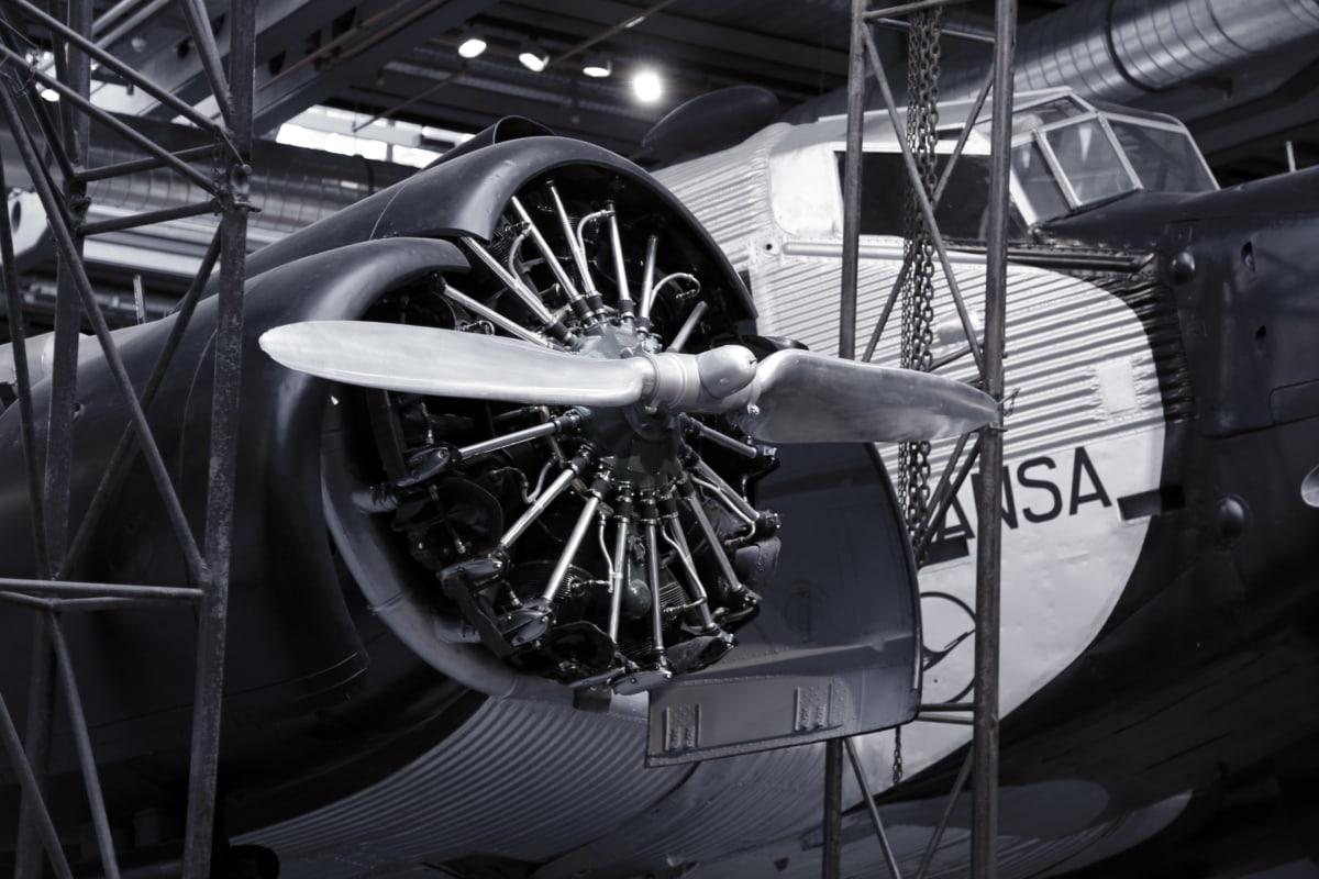 letecký motor, zařízení, facory, průmysl, vrtule, zařízení, Aerodynamická, motor, inženýrství, kov