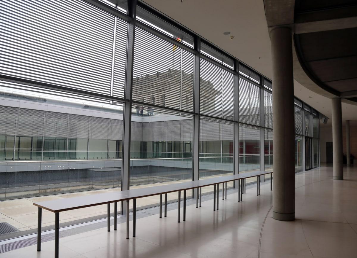 prazan, hodnik, arhitektura, grad, koridora, zgrada, prozor, Interijer, moderne, struktura