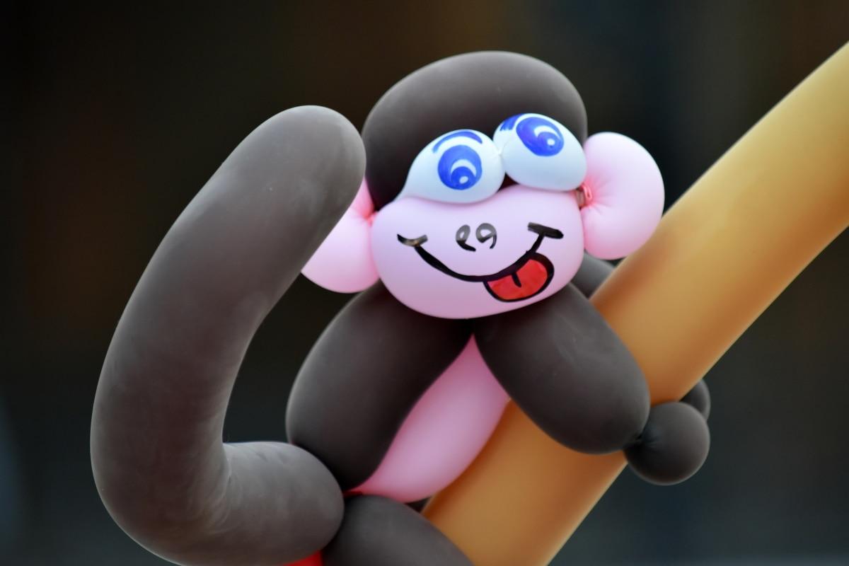 μπαλόνι, Χειροποίητο, παιχνίδια, παιχνίδι, τέχνη, διασκέδαση, σχήμα, χρώμα, πολύχρωμα, Αστείο