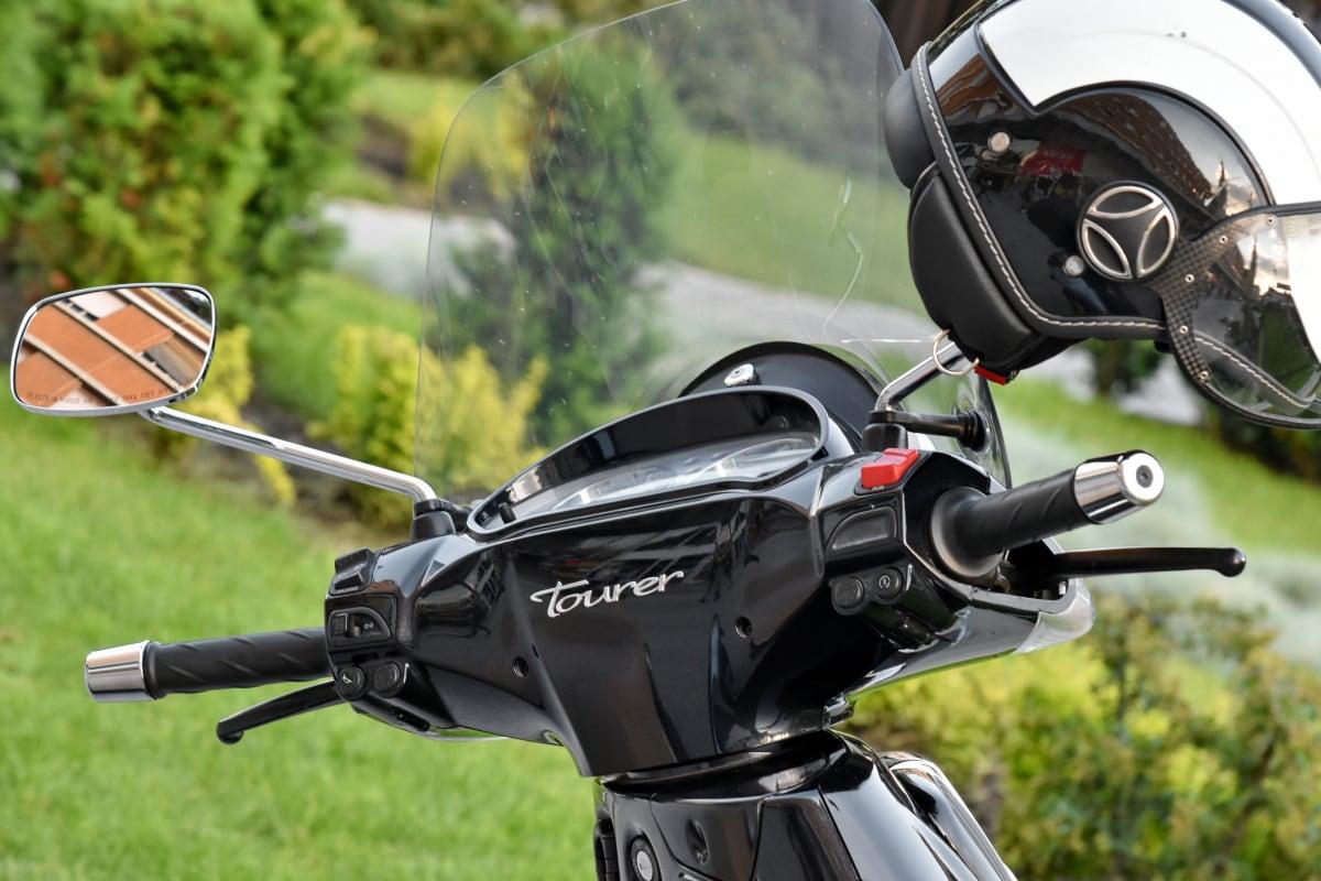 hjälm, motorcykel, skydd, säkerhet, ratt, mekanism, rotorn, cykel, gräs, klassisk