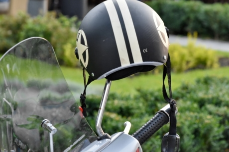helmet, protection, safety, windshield, outdoors, summer, leisure, recreation, nature, garden