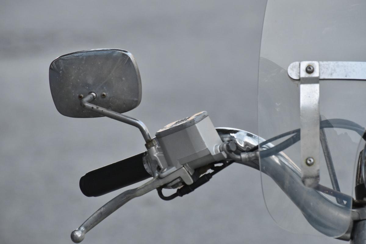 Chrome, перемикання передач, металеві, дзеркало, мопед, докладно, Подробиці, обладнання, машина, механізм