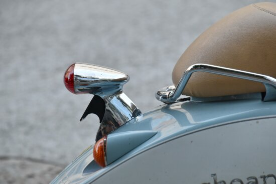 detail, leather, moped, nostalgia, seat, chrome, classic, daylight, details, device