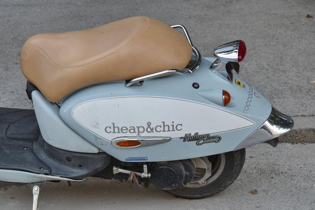 moped, säte, klassisk, fortskaffningsmedel, detalj, Detaljer, utrustning, mode, maskin, metall