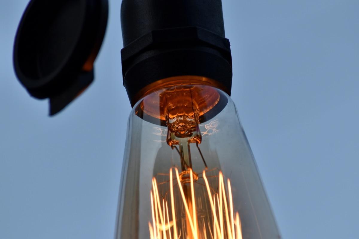 električna energija, žica, lampa, osvijetljeno, svjetlo, lanterna, na otvorenom, tehnologija, reflektor, svijetle