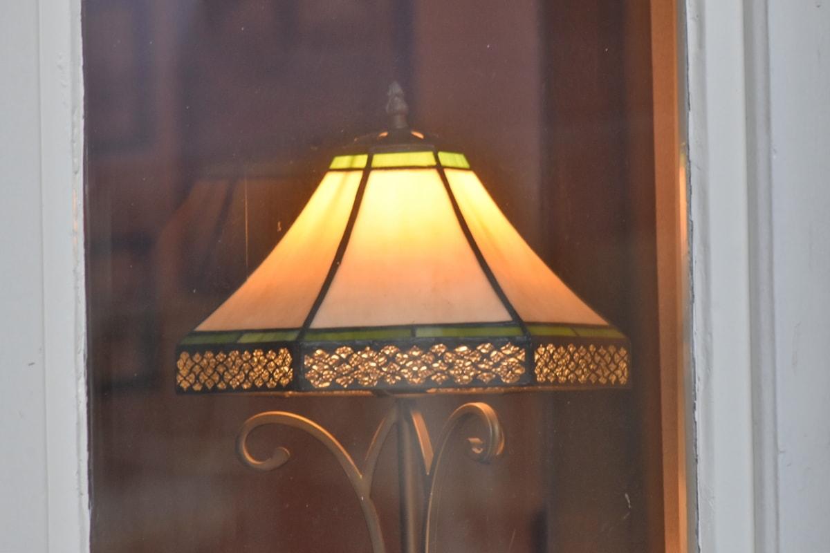 decor, decorative, illuminated, window, furniture, architecture, wood, interior design, indoors, lamp