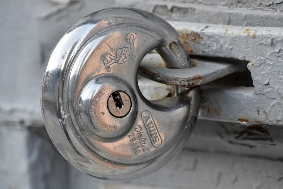 Gang đúc, cửa trước, Keyhole, kim loại, kim loại, ổ khóa, thép không gỉ, khóa, thiết bị, thép