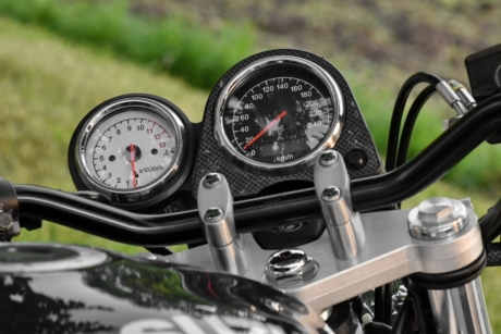 gauge, gearshift, minibike, modern, speedometer, chrome, control panel, dashboard, detail, details
