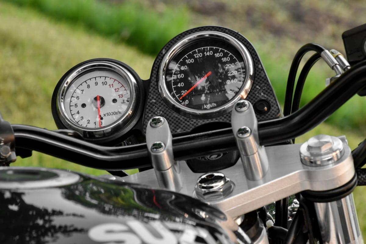 mätare, motorcykel, hastighetsmätare, Kontrollpanelen, instrumentpanel, detalj, Detaljer, enhet, diesel, utrustning