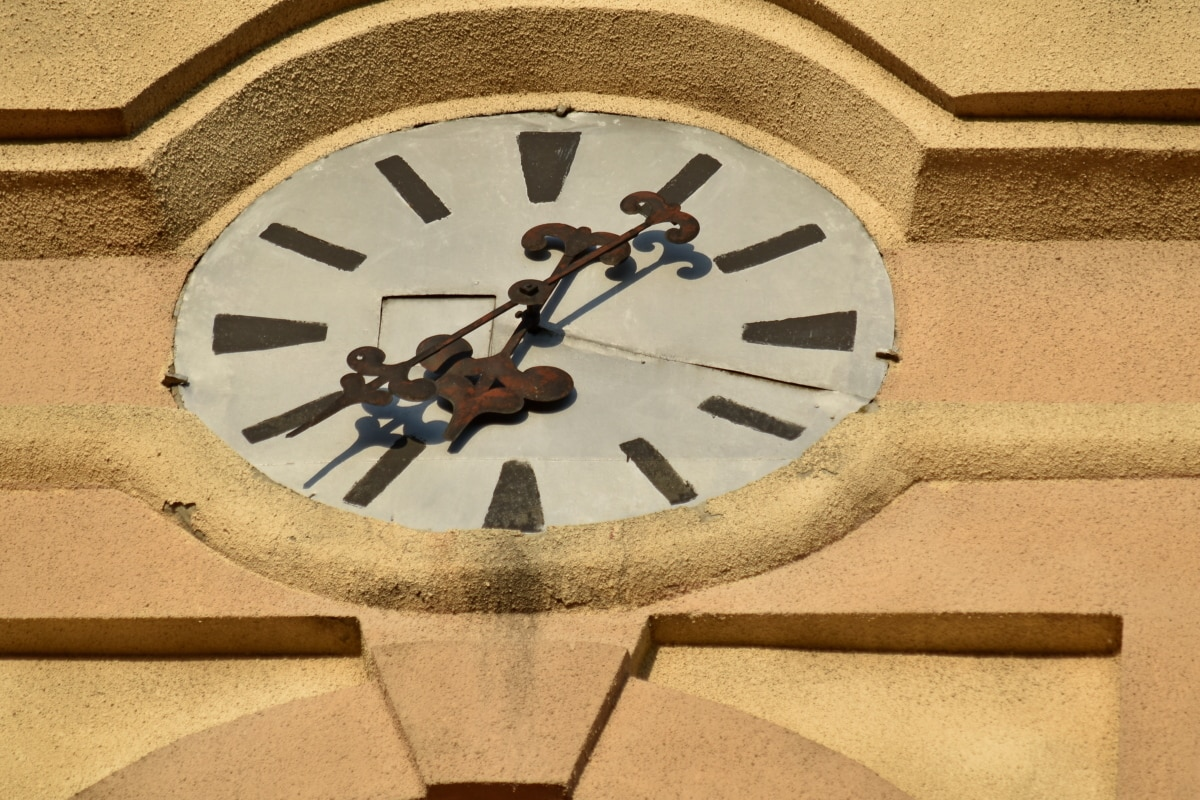 church tower, ancient, antique, architecture, art, classic, clock, device, dirty, hand