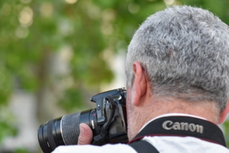 paparazzi, photojournalist, man, lens, nature, journalist, summer, portrait, fair weather, competition