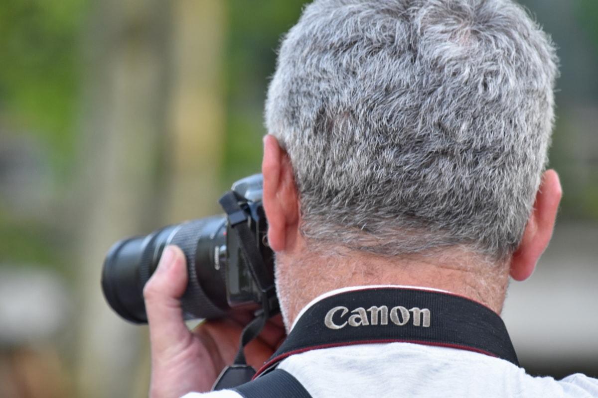 lens, photographer, photography, photojournalist, equipment, camera, man, outdoors, nature, journalist