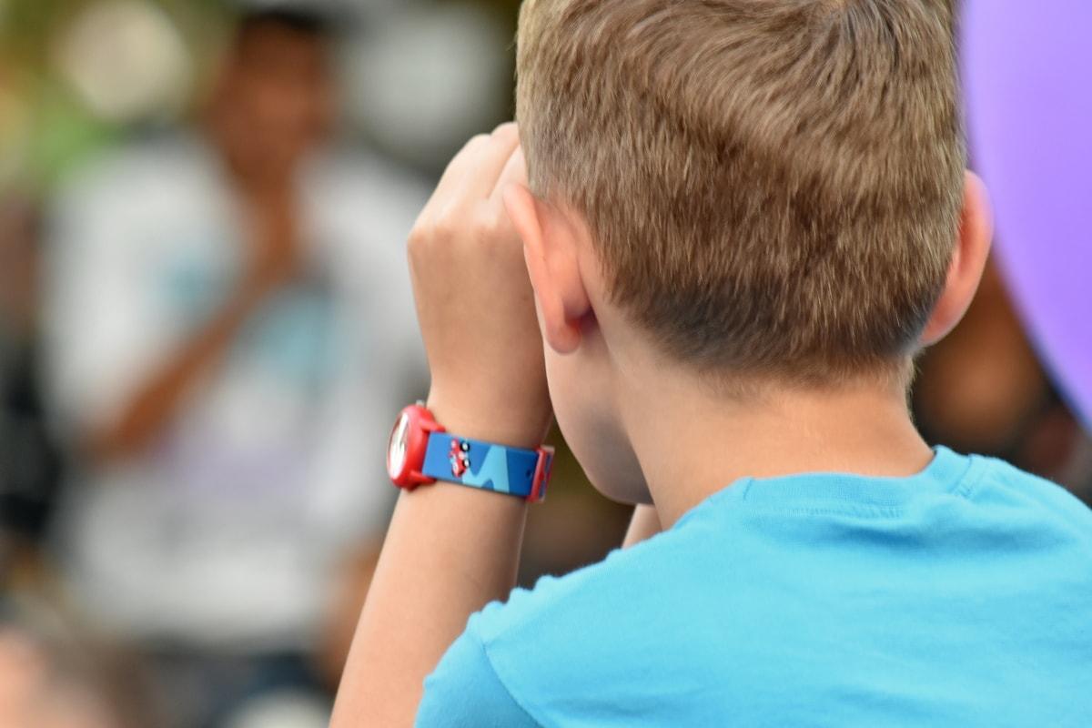 arm, boy, wristwatch, person, attractive, child, outdoors, competition, leisure, portrait