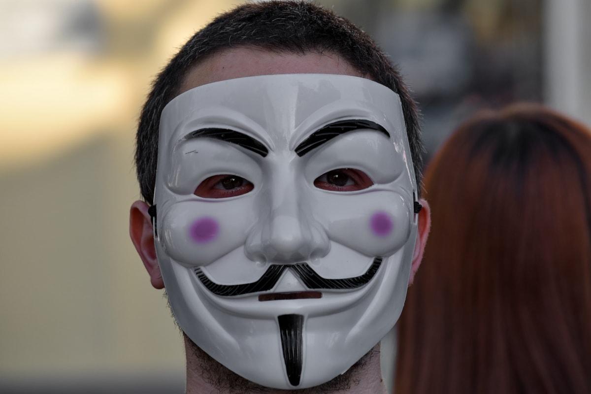 carnival, costume, face, man, mask, portrait, covering, festival, girl, eye