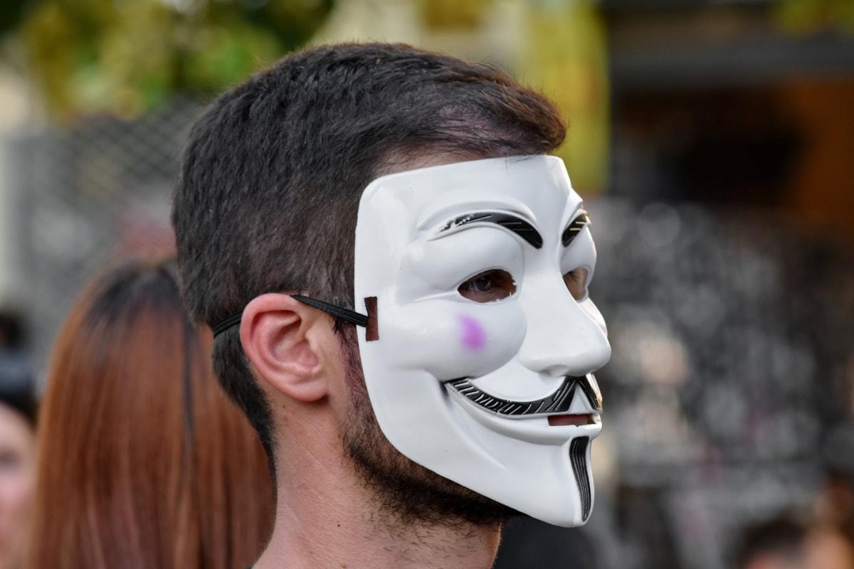 carnival, mask, people, portrait, covering, attire, face, festival, woman, man