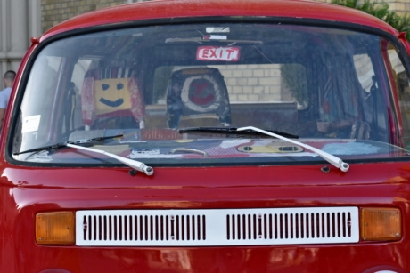 car, exit, festival, windshield, classic, hood, vehicle, covering, retro, nostalgia