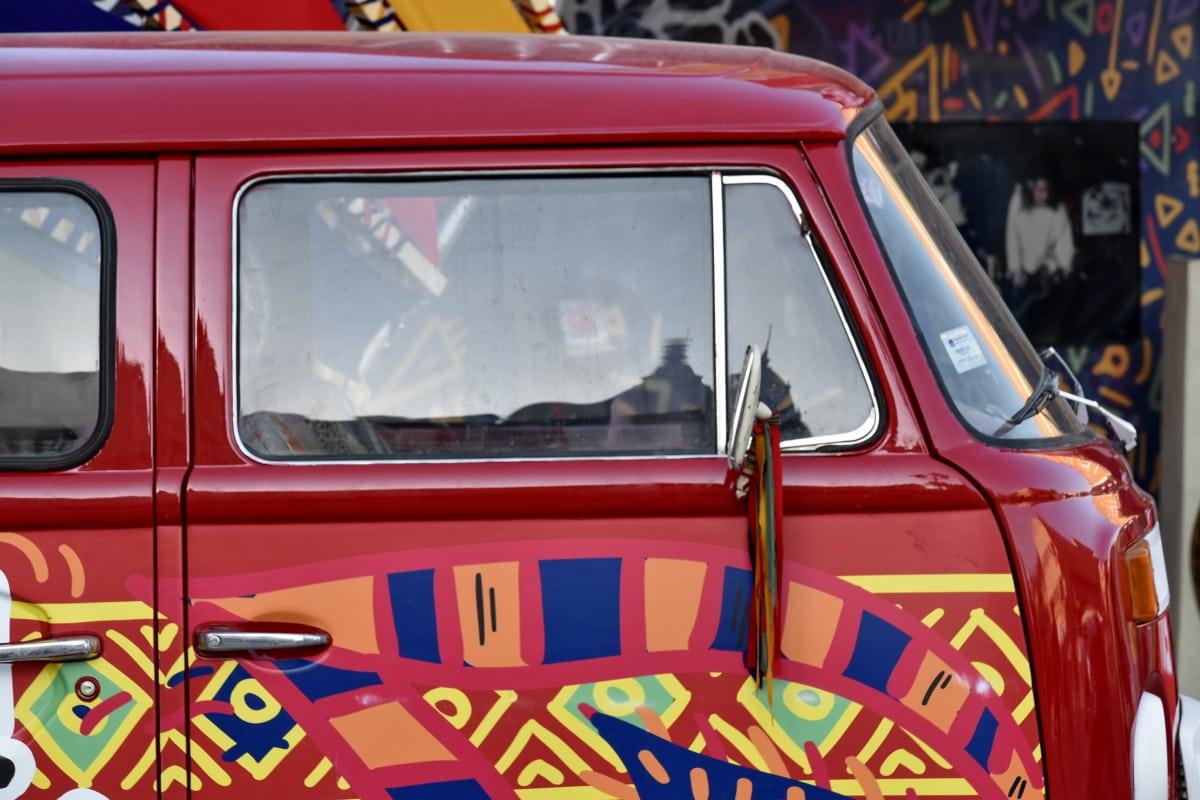 car, colourful, festival, nostalgia, transportation, transport, vehicle, classic, retro, street