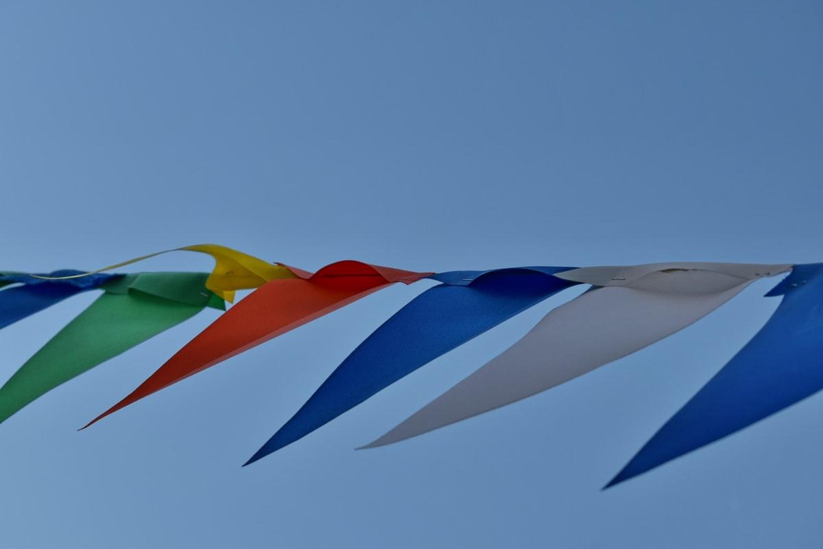 karneval, festivalen, tau, vind, kunst, farge, luft, blå himmel, utendørs, natur