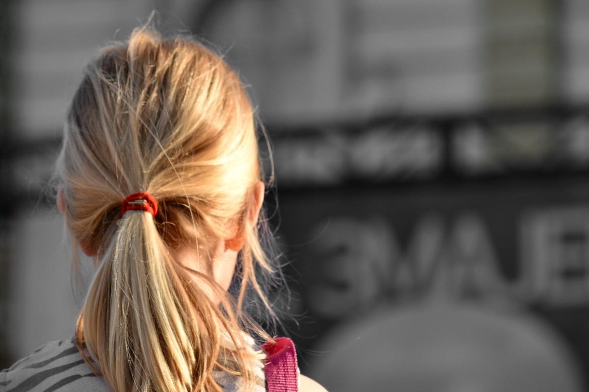 plava kosa, frizura, žena, kosa, modni, djevojka, lijepo, portret, Mladi, ljudi