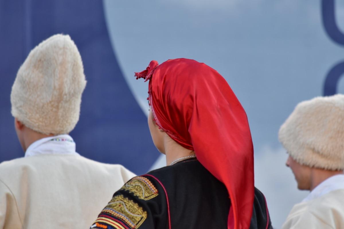 karneval, konkurrens, parad, person, kvinna, Utomhus, landskap, man, personer, jul