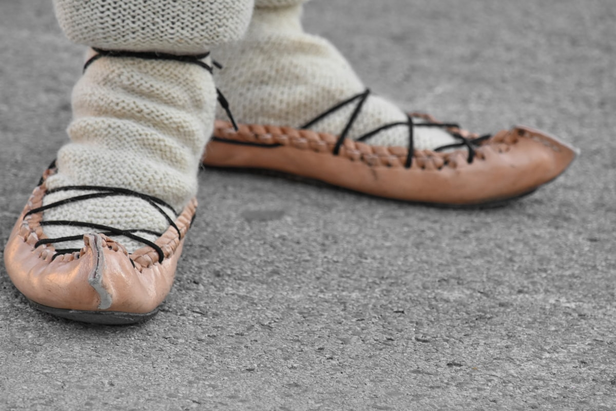 handmade, leather, old fashioned, shoelace, footwear, foot, fashion, sneakers, shoe, ground