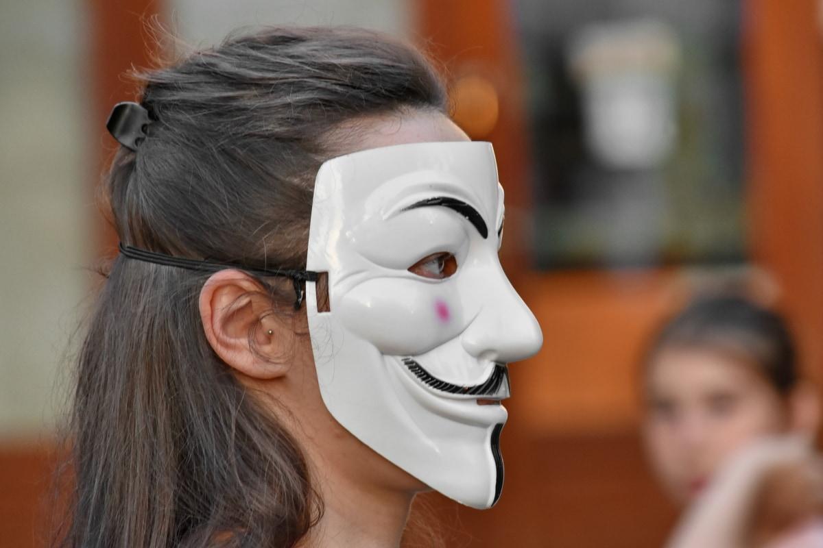 маска, обличчя, покриття, жінка, люди, фестиваль, Сім'я, портрет, мода, Дівчина