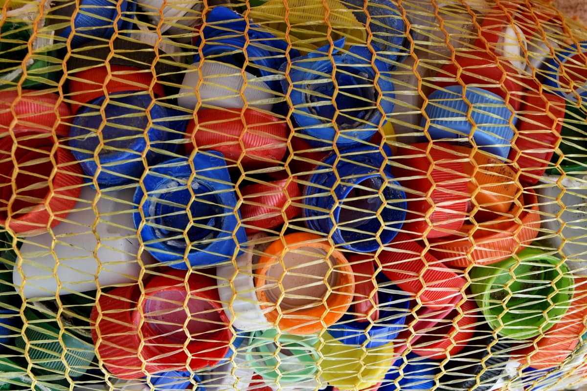 garbage, collecte des ordures, plastique, poubelle, texture, modèle, mosaïque, Résumé, Couleur, conception